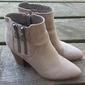 Guess Taupe Ankle Boots